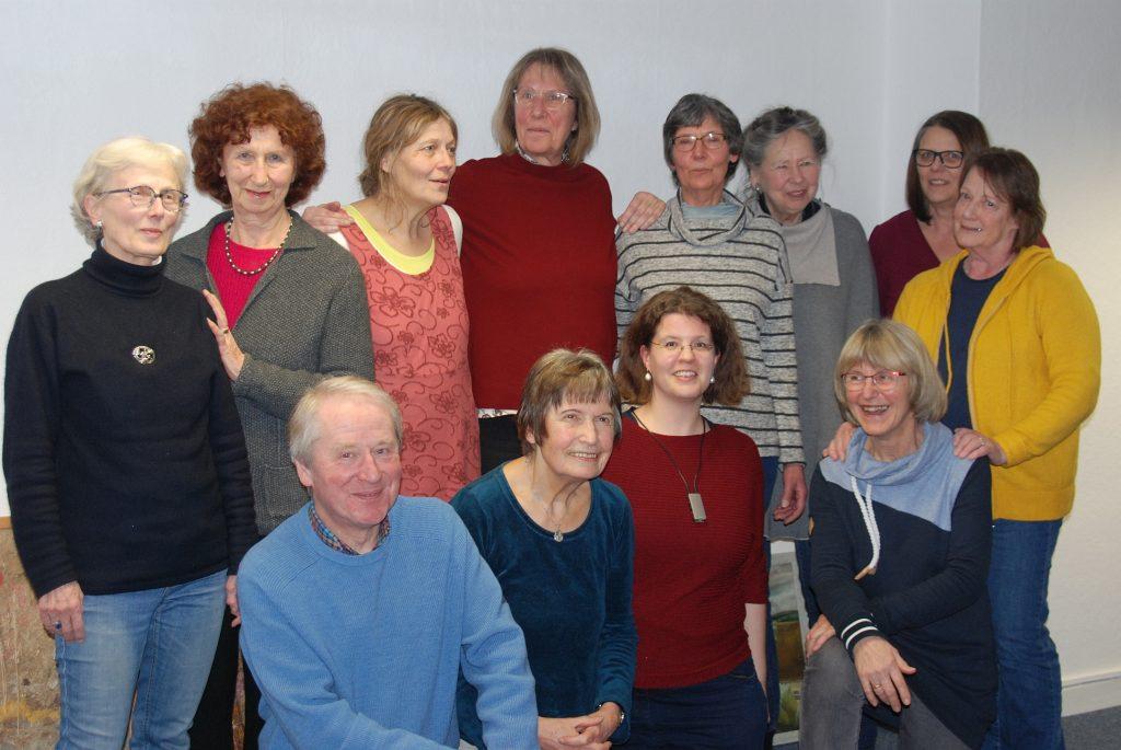 Einige Mitglieder der erzählwerkstatt Braunschweig